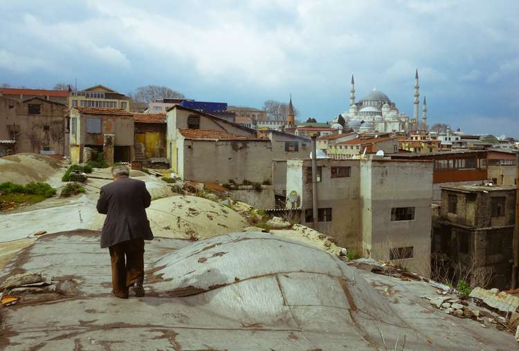 The peculiar streets of Istanbul