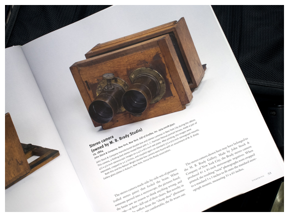 a page from todd gustavson's camera book
