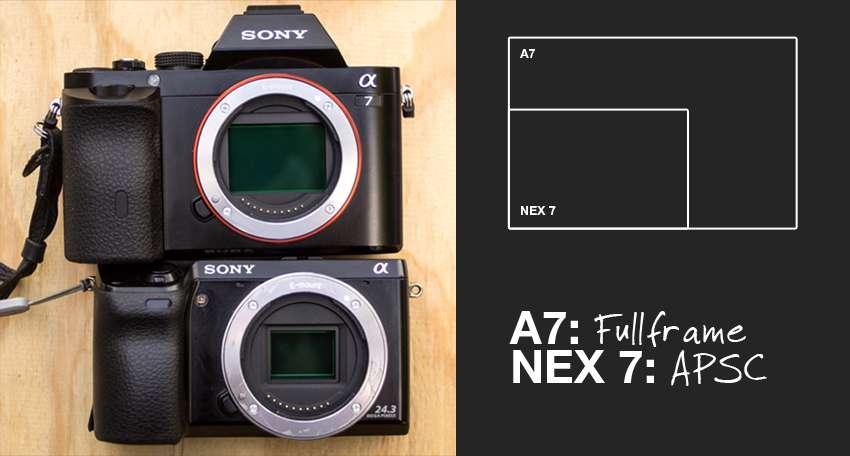 sony-a7-vs-nex-7-sensor-size
