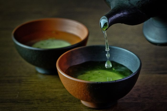 The culture of tea in Japan