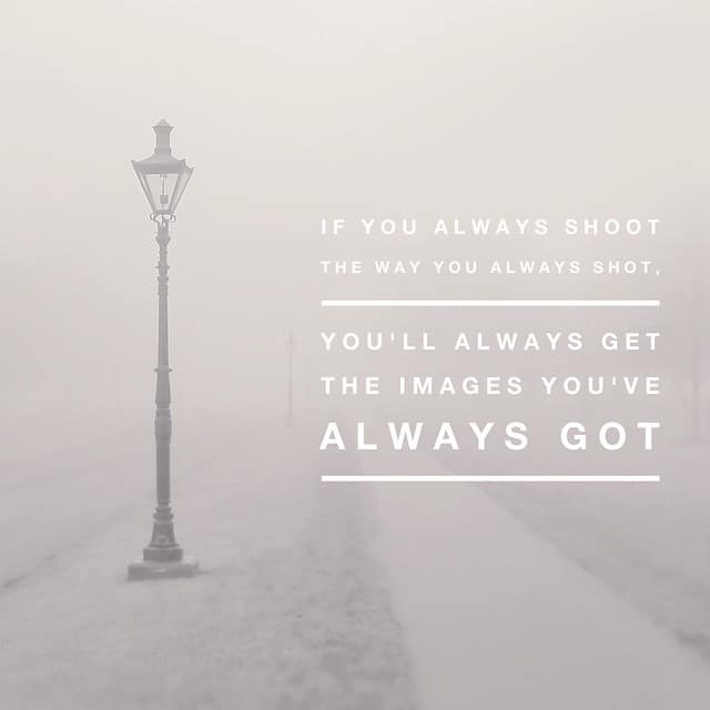 if you always shoot
