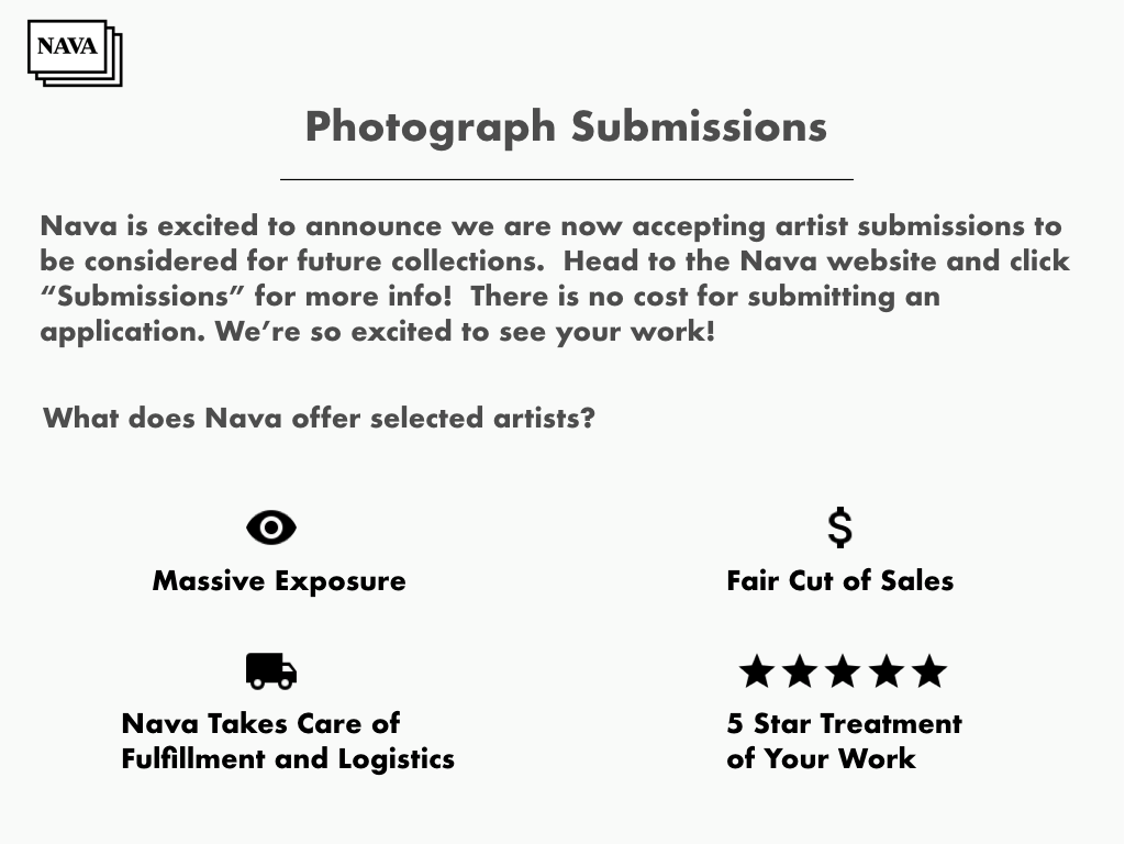Selling your work with Nava