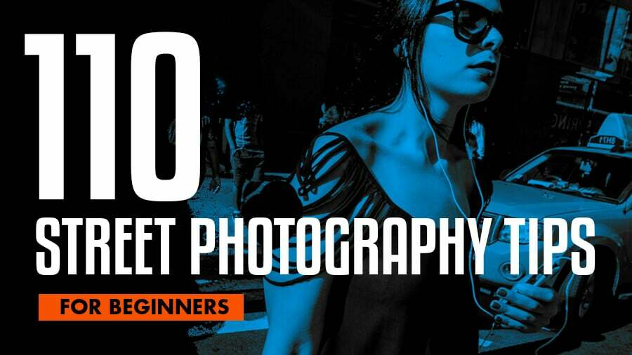 street photography tips for beginners graphic