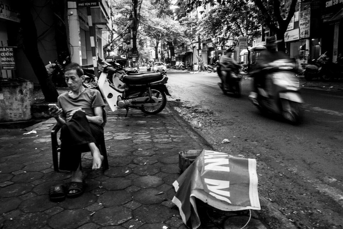 Hanoi street photography 2