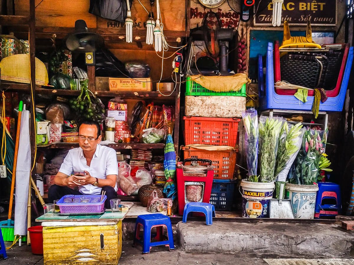 Hanoi street photography 7