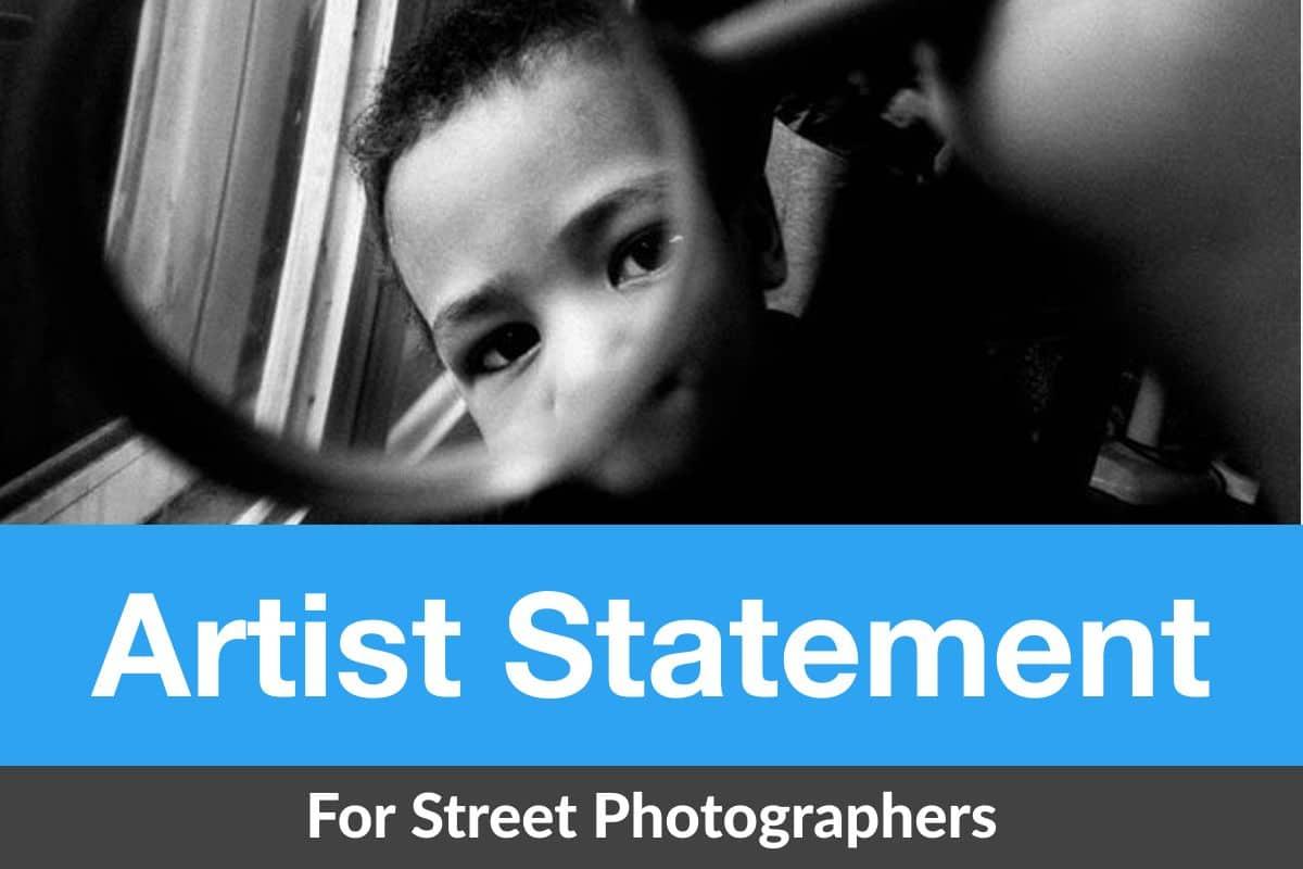 street photography artist statement
