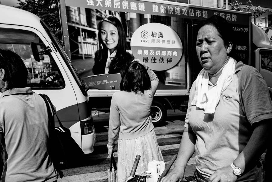 Candid street photography example